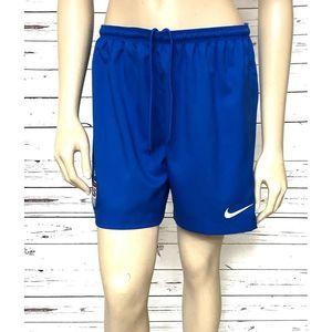 Nike Dri-Fit US Team Soccer Shorts Medium Blue
